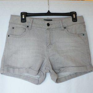 Gray Stretchy Shorts